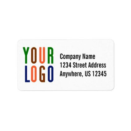 Template   #Promotional Your Company Or Event Logo Large Label   Large  Label Template  Large Label Template