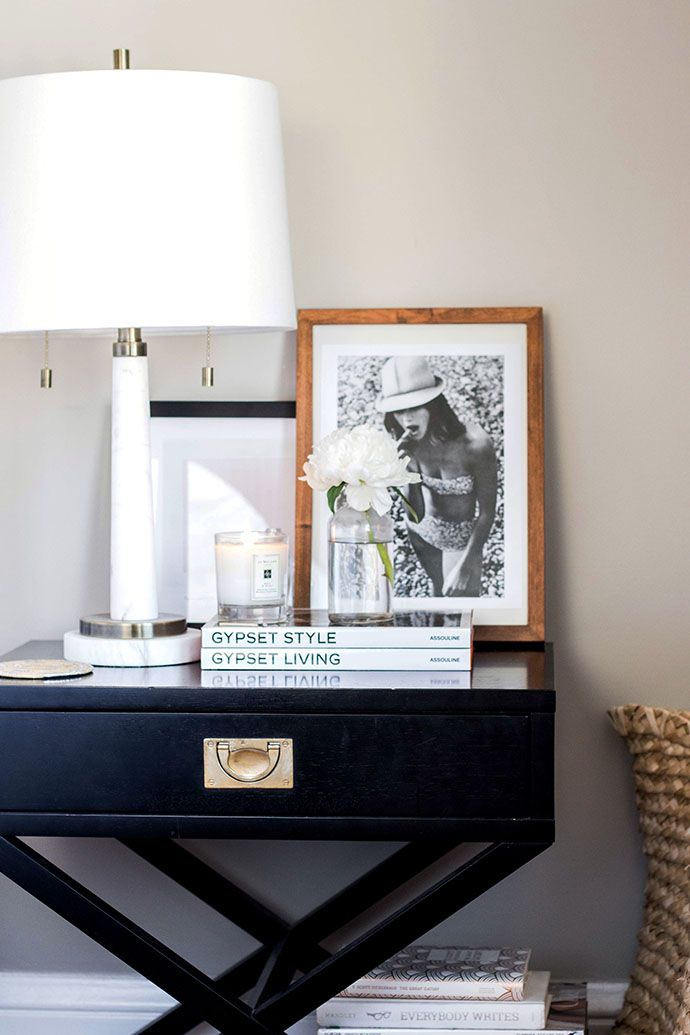 Ashley Kane S Sophisticated Gray And Gold Home Tour Our Home
