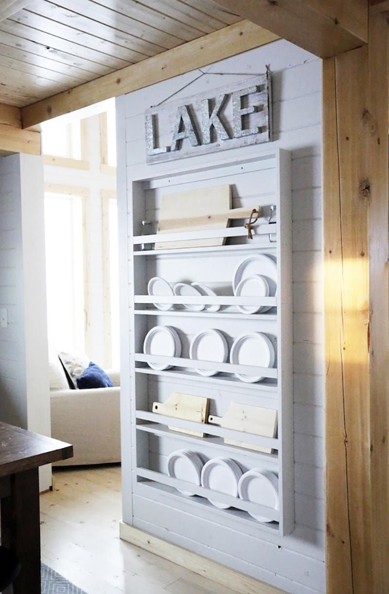 Fabulous DIY Farmhouse Plate Racks You Can Make - The Cottage Market
