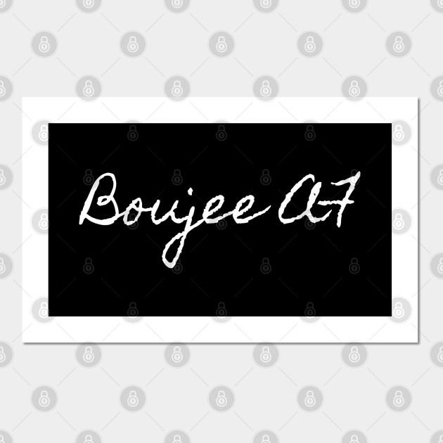 boujee af Boujee Af Posters and Art Prints TeePublic