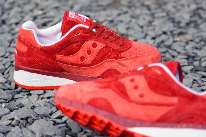 PREMIER X SAUCONY SHADOW 6000 - Red The Cheapest