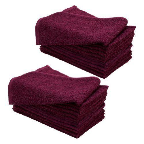 """bleach safe 120 new cotton bleach proof salon hand towels blue 16/""""x27/"""""""