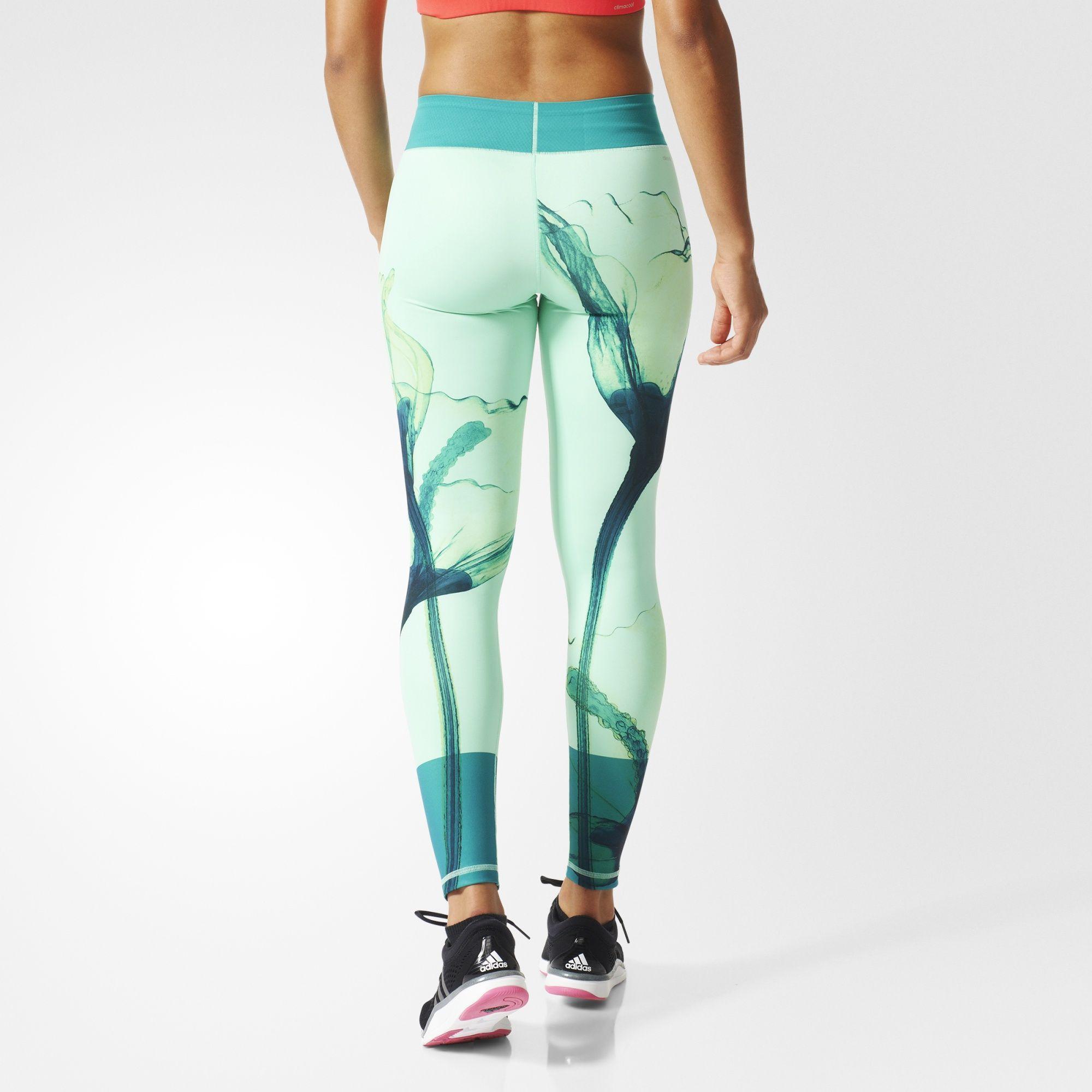 Adidas Oceania Womens running pants, Womens tights