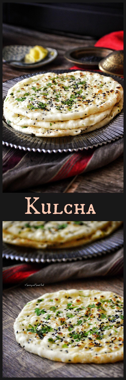 Kulcha recipe pinterest indian breads coriander leaves and kulcha recipe pinterest indian breads coriander leaves and black sesame forumfinder Images