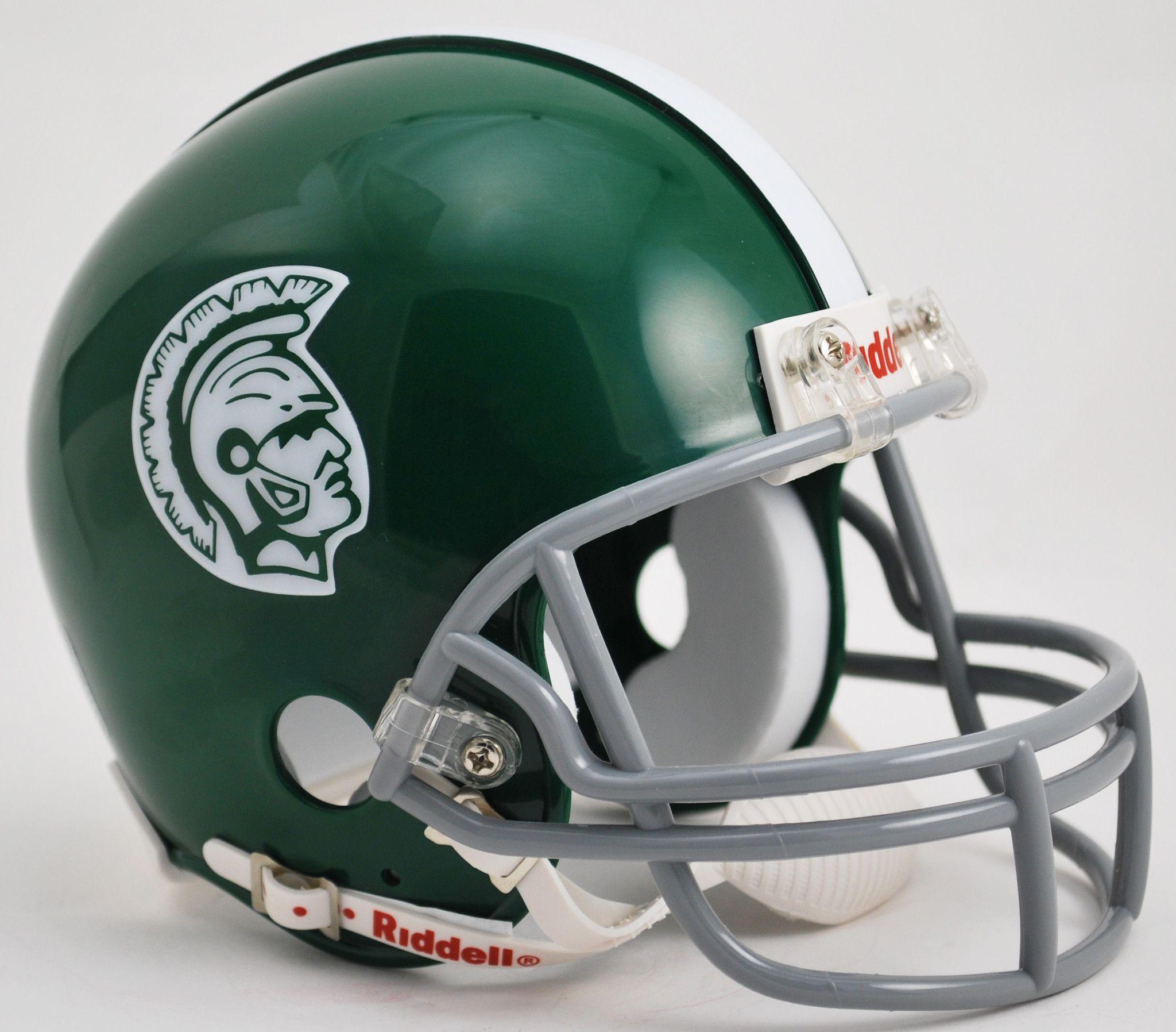 Michigan State Spartans 1965 Throwback Mini Helmet