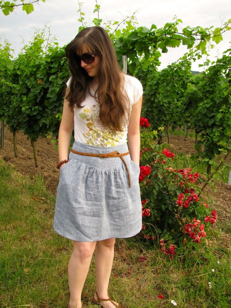 Meikes erster Crescent Skirt! | Sewing clother | Pinterest ...