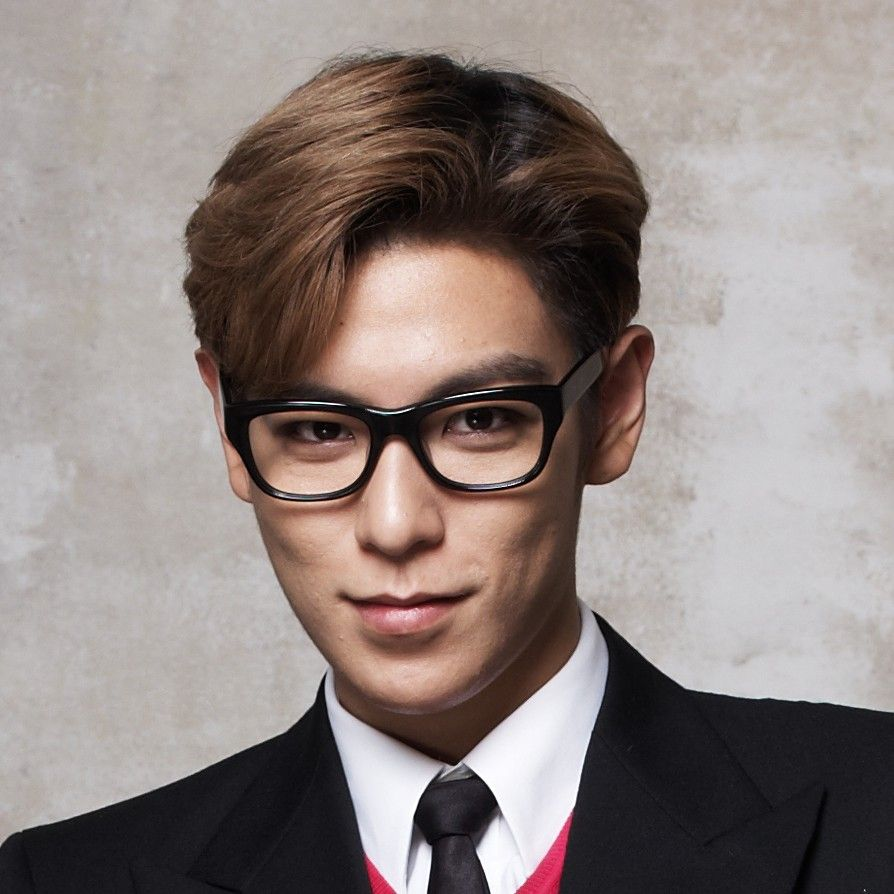 Big Bang T O P Brown Medium Side Part Cool Asian Hair Pinterest