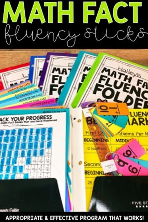Math Fact Fluency Sticks are a powerful tool for you to use in your 1st grade or 2nd grade classroom. I believe in this system because it is developmentally appropriate, research based, and meets the needs and ability levels of all the students in your classroom in a low stress and low maintenance way.