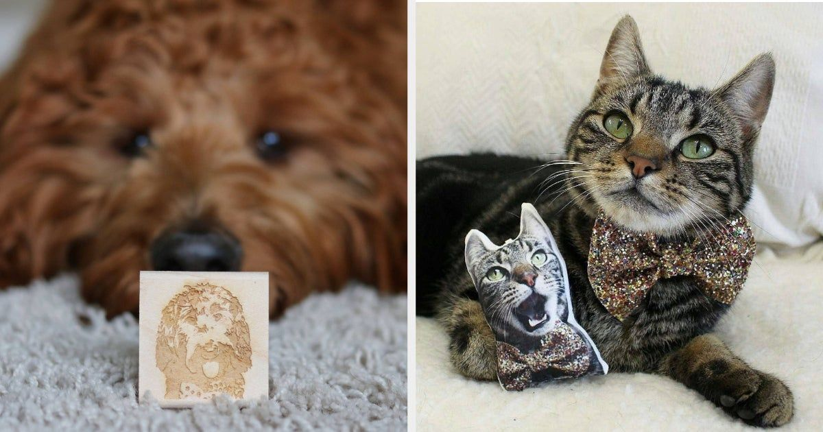29 Custom Gifts Pet Owners Will Love *Almost* As Much As