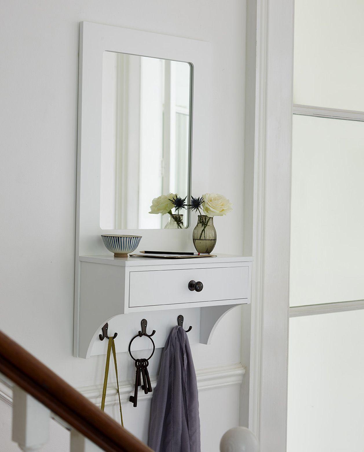 Classic hallway organiser | Hallway ideas | Pinterest