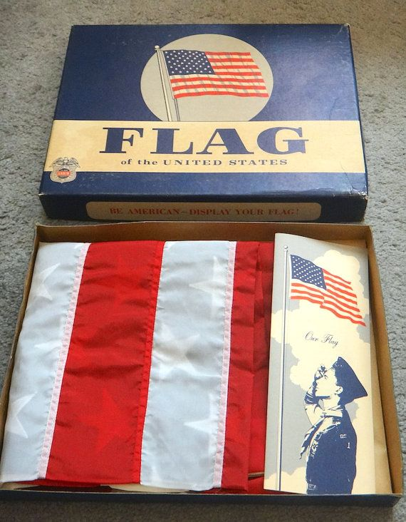 American Flag Flown Over Us Capitol On November 27 1964 W Official Coa Annin Defiance 100 Cotton Bunting 3 X American Flags Flying American Flag Flag