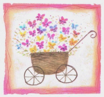 花かご イラスト Google 検索 はなくるま 花カゴ Flower Cart Flower