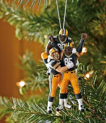 this is a great packers christmas ornament - Green Bay Packers Christmas Ornaments