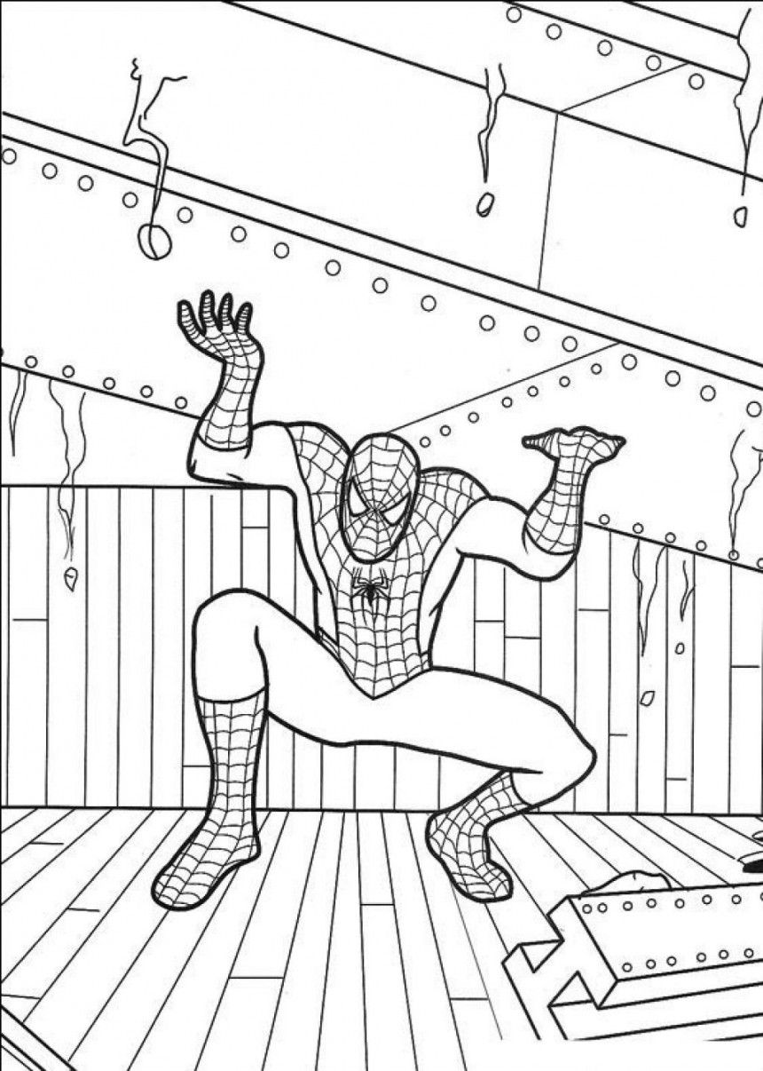 Free Printable Spiderman Coloring Pages For Kids | coloring_pages ...