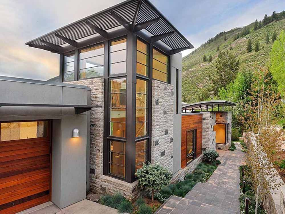 Green Home Design by Zone 4 Architecture in Colorado Green Home