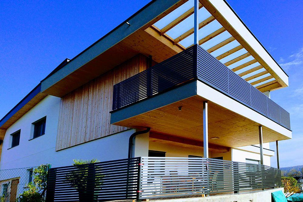 guardi sterreich aluminium alu aluminiumgel nder balkon balkongel nder linea modern