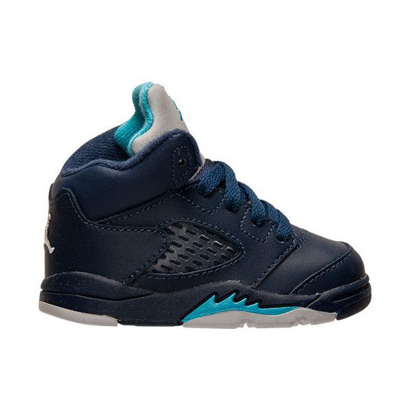 8815a7a2ec30fd Boys  Toddler Air Jordan Retro 5 Basketball Shoes ( 60) ❤ liked on Polyvore  featuring shoes
