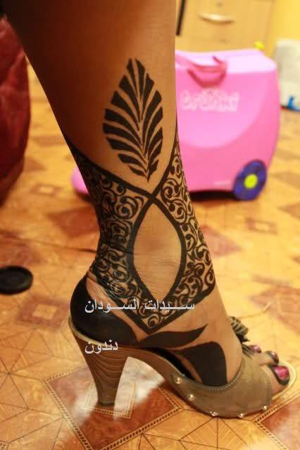 Sudanese Henna Foot Henna Mehndi Designs Mehndi Design Images