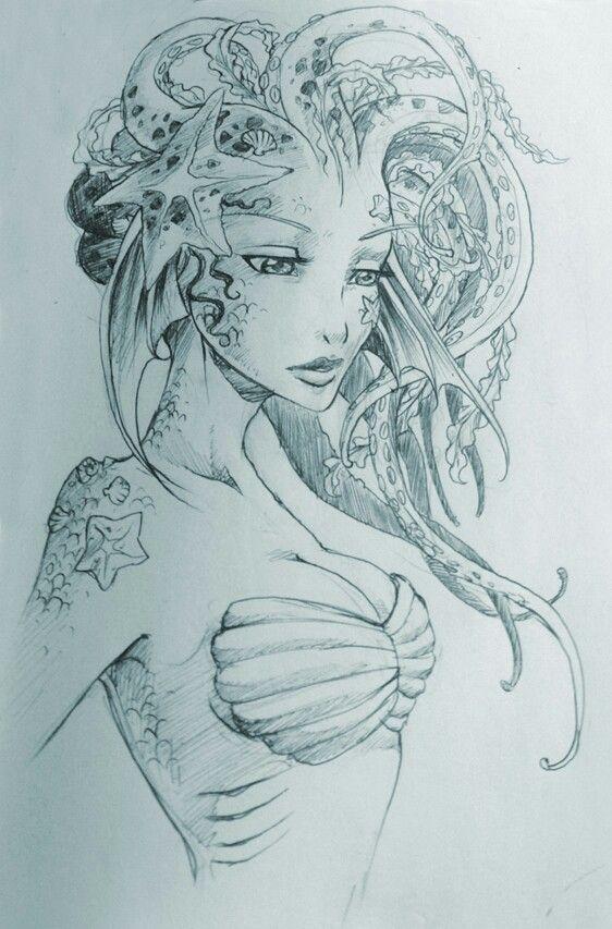 pin von day dreaming auf tattoo pinterest zeichnen zeichnungen und meerjungfrauen. Black Bedroom Furniture Sets. Home Design Ideas
