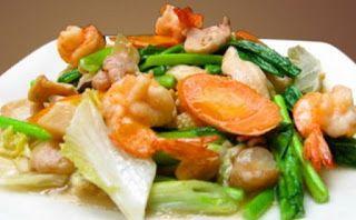 Langkah Mudah Cara Memasak Capcay Sayur Bakso Udang Kuah Kental Sederhana Makan Malam Makanan Dan Minuman Sayuran