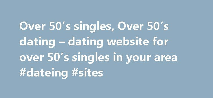 dating websites for over 50s