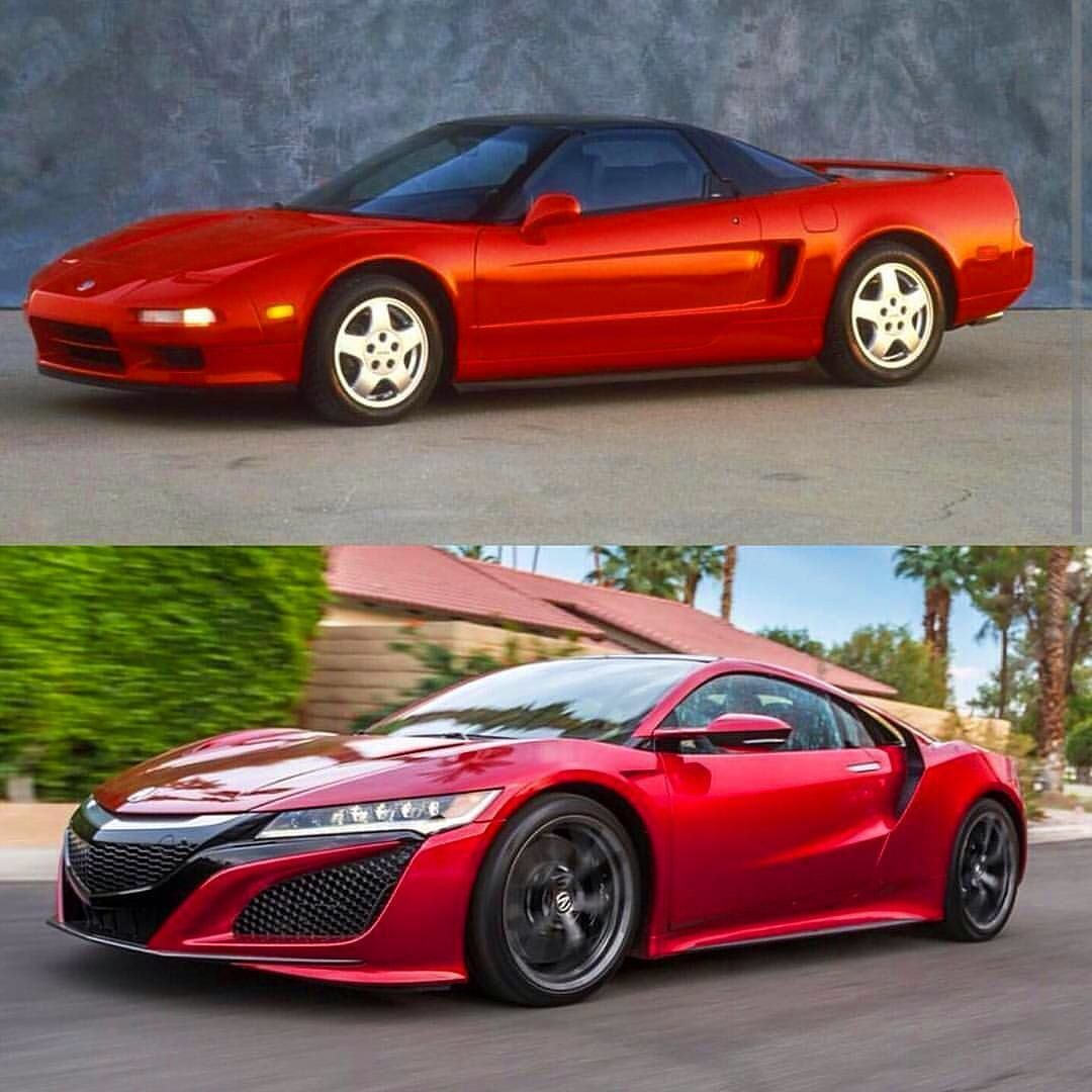 Acura NSX A History Of 20 Years Do You Notice Any
