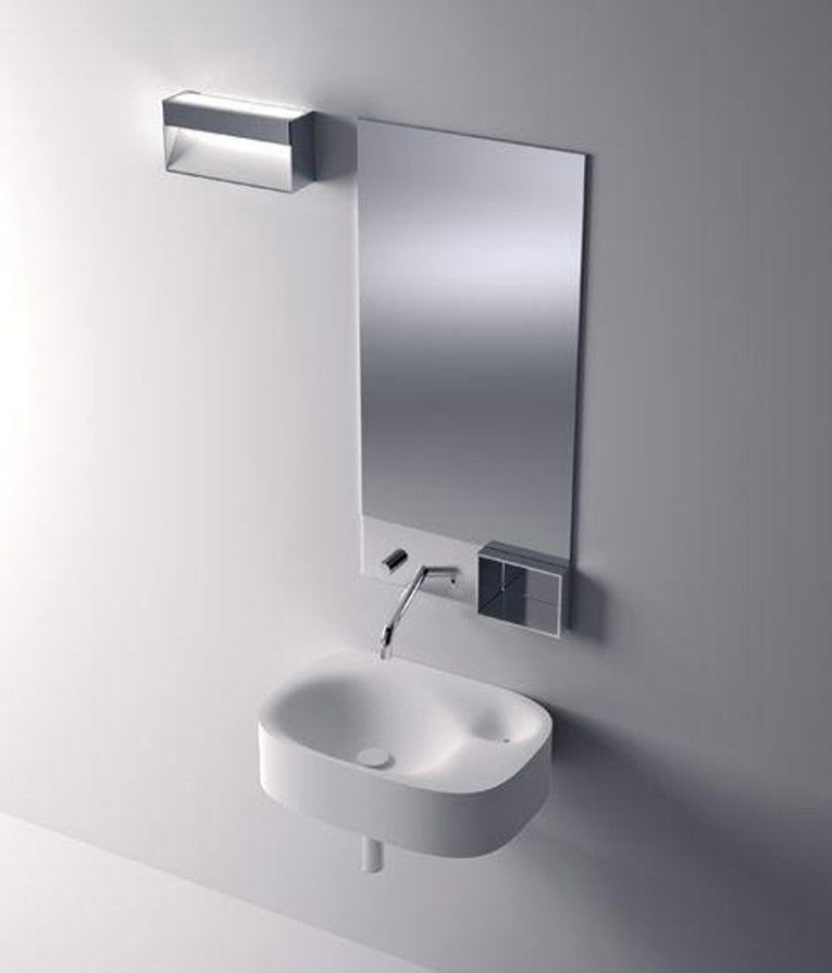 12 Excellent Wall Mounted Sinks For Small Bathrooms Foto Ideas Interior Design Ideas By Naspa