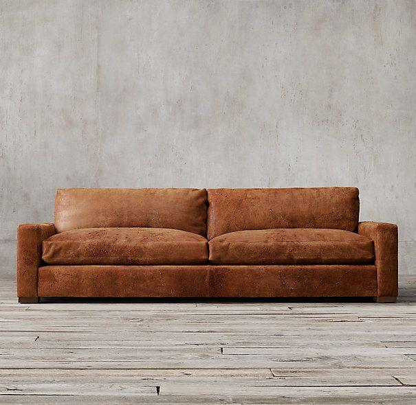 Maxwell Leather Sofa: Maxwell Leather Sofa. Obsessssssed.