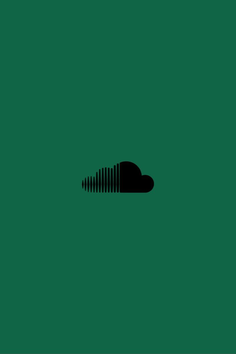 Soundcloud Icon Icon Green Aesthetic Green Theme