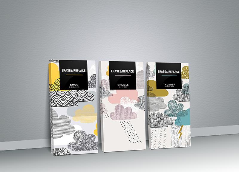 Complètement et trop extrême Erase&Replace Chocolate (Student Project) | packaging | Chocolat #TT_25
