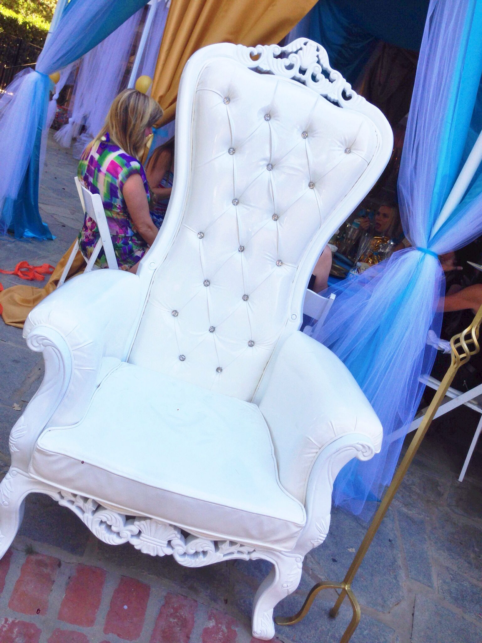 Alexis Royal Baby Shower- Throne | royal baby shower | Pinterest ...