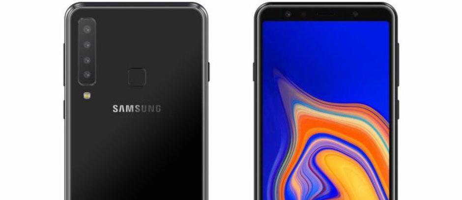 تسريبات جديدة تكشف عن أربع كاميرات خلفية في جوال سامسونج القادم Galaxy A9 Pro Samsung Galaxy Phone Galaxy Samsung Galaxy
