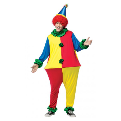 Primary Clown Hoopster Clown Costume Woman Scary Clown Costumes Clown costume DIY  sc 1 st  Pinterest & Primary Clown Hoopster Clown Costume Woman Scary Clown Costumes ...