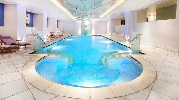 Contemporary Indoor Pools From Indoor Swimming Pool Ideas