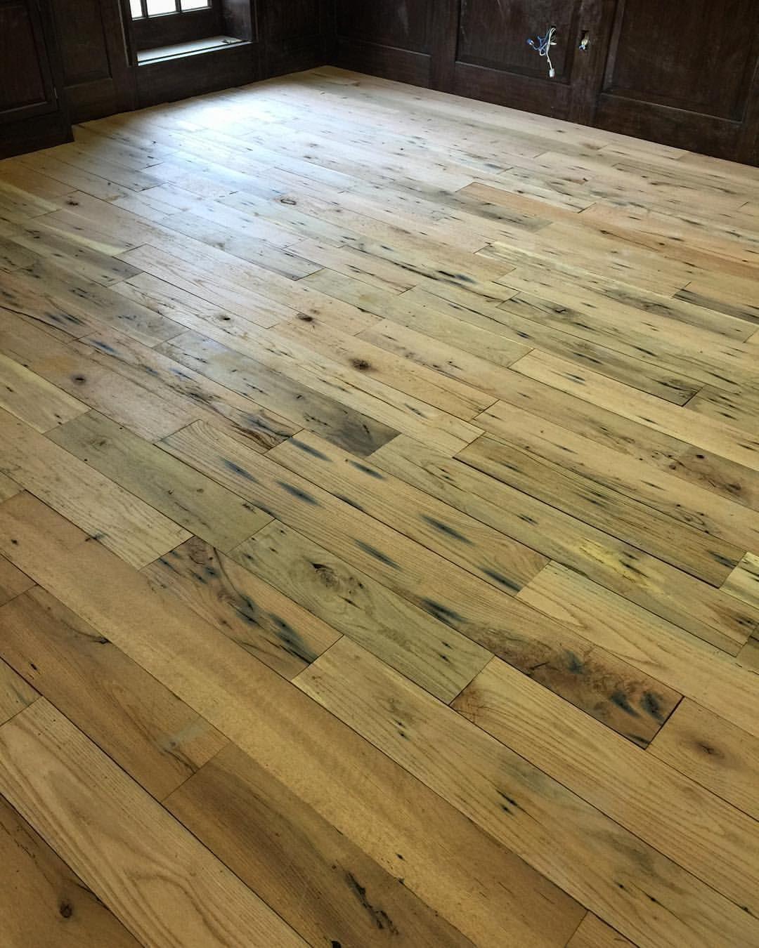Our reclaimedoak transformed into flooring Reclaimed