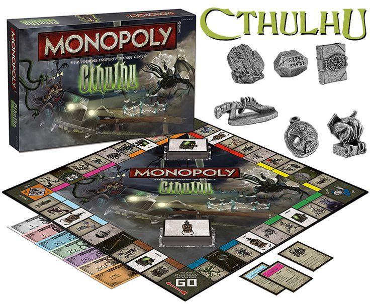 Monopoly O Mais Dificil Nao E Jogar E Escolher A Versao Nerd Da Hora Jogos De Tabuleiro Monopoly Devorador De Almas