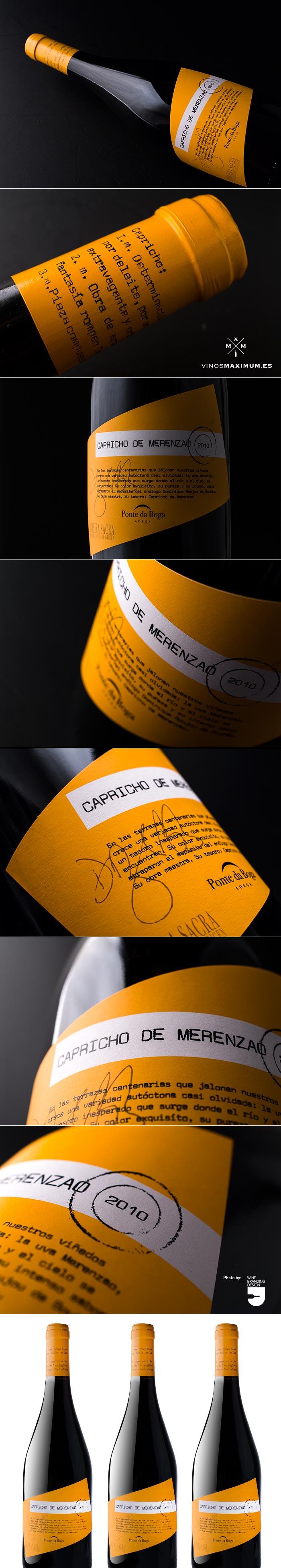 Capricho de merenzao 2010 Ponte da Boga Adega -  #taninotanino #vinosmaximum