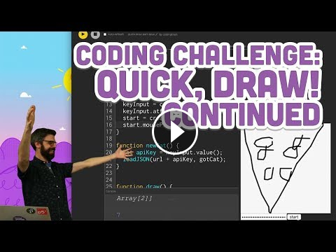 Coding Challenge 122 2 Quick Draw Continued Computer