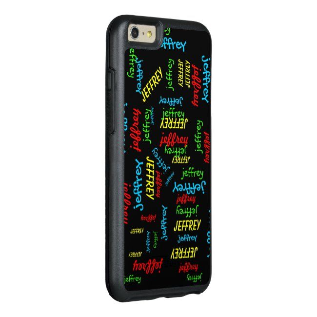 Repeating Names OtterBox Symmetry iPhone 6 Plus