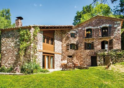 Can janot en el pirineo catal n masias catalonia spain - Casas rurales en el pirineo catalan ...