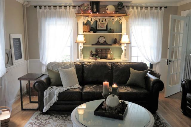 While I Linger: Fall Home: In the Living Room 2016