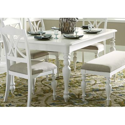 Liberty Furniture Dining Table Wayfair Beachy House Decor - Wayfair white table and chairs