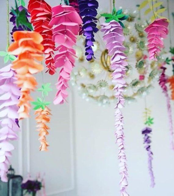 Capture The Beauty Of Wisteria Through Paper Craft With These Diy