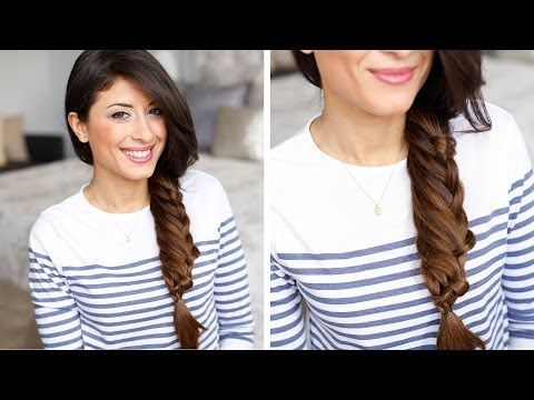 Layered Braid Hair Tutorial - NO It worked, but I just didn't like the way it looked.
