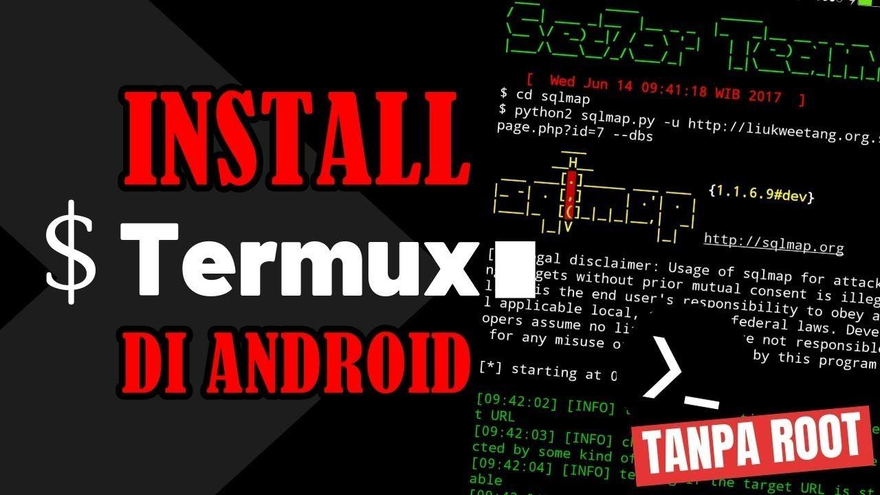 Cara Install Termux Di Android Tanpa Root Linux Aplikasi Android