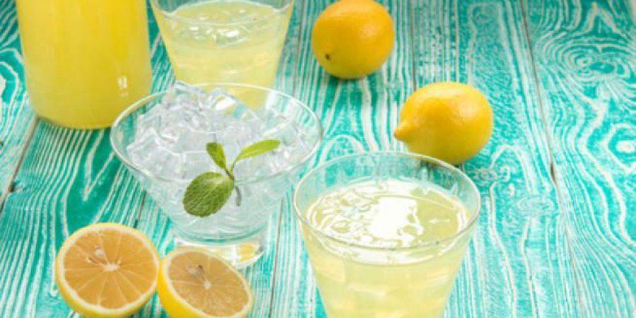 منافع و طريقة تحضير عصير الليمون بالنعناع المنعش Punch Bowls Fruit Lime