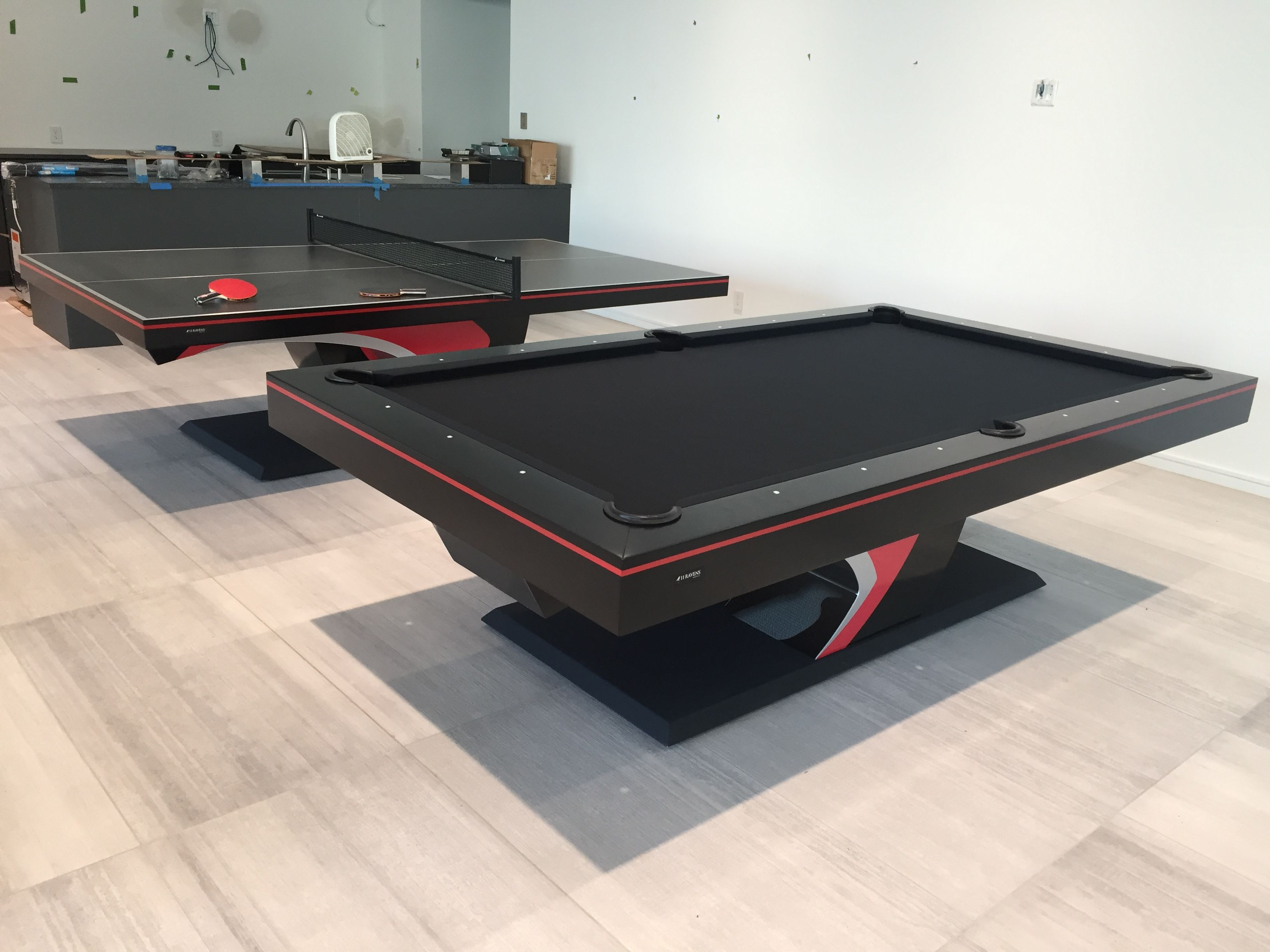 For A Bolder Presence The Force Is Presented A Piece Dramatically Sculpted To Produce A Stunning Silhouette Tha Modern Pool Table Diy Pool Table Modern Pools