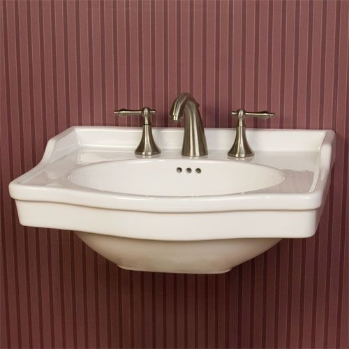 Sale Cierra Wall Mount Sink 24 Wide Bowl 12 1 2 120 Wall Mounted Sink Small Wall Powder Room Sink