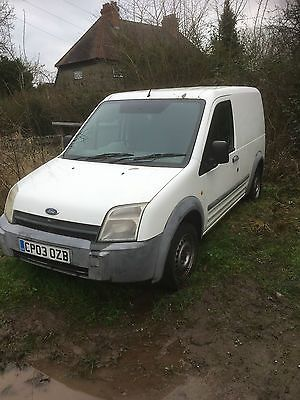 Ebay  Ford Transit Connect T Tddi White Spares Or Repairs Carparts