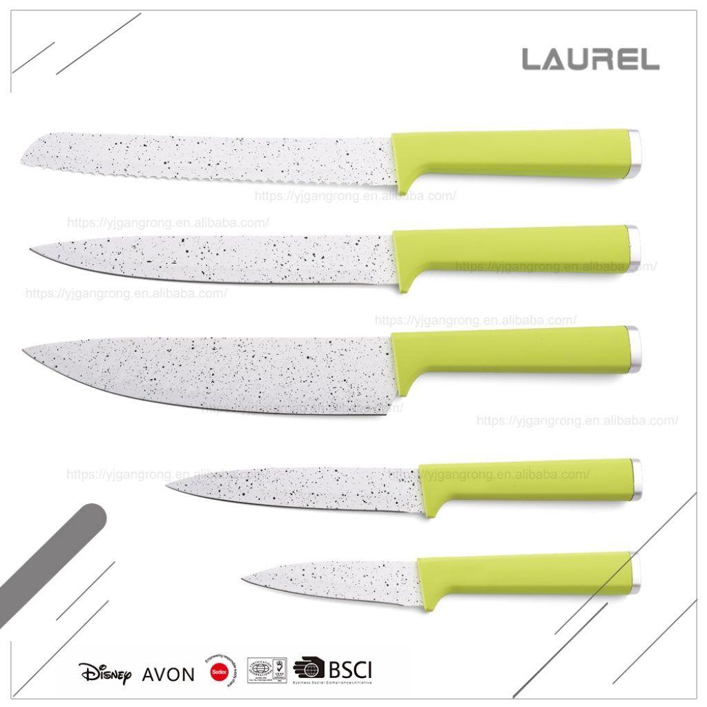 Avon Colorful Kitchen Knife Set | http://avhts.com | Pinterest ...